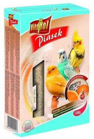 Pomarańczowy piasek dla ptaków - 1,5 kg