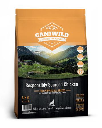 Caniwild Puppy Free run Chicken & Turkey 12kg