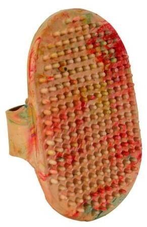 Gumowe zgrzebło do podstawowej pielęgnacji - 13,5 cm