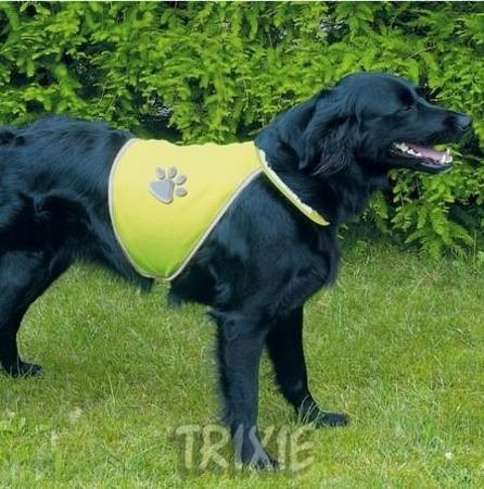 Kamizelka odblaskowa dla psa - rozmiar L