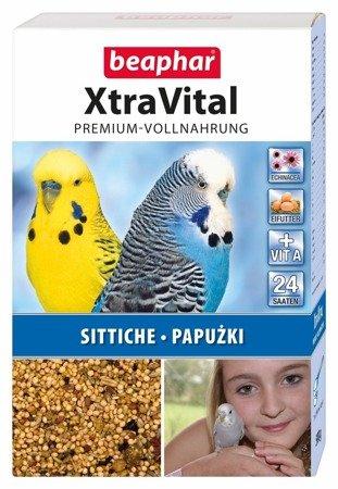 Kompletna karma dla papużek np. papug falistych XtraVital Sittiche 500g