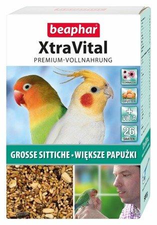 Kompletna karma premium dla większych papużek papug XtraVital Grosse Sittiche 500g