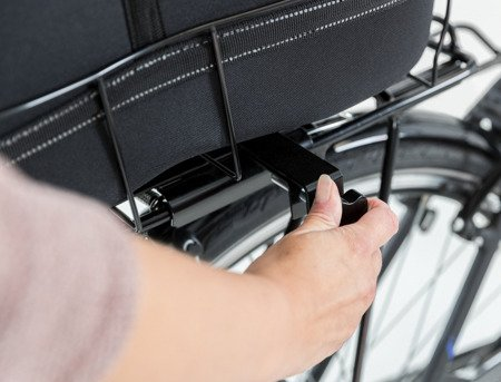 Kosz na szeroki bagażnik rowerowy - do 8 kg