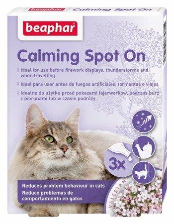 Krople uspokajające dla kota No Stress Spot On - 3 pipety