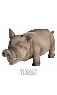Lateksowa chrumkająca świnia - 23 cm