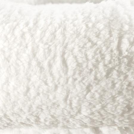 Miękkie Legowisko Posłanie termiczne dla małego psa i kota 55cm białe