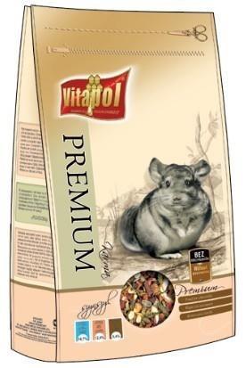 Pasza jakości premium przeznaczona dla szynszyli - 750 ml