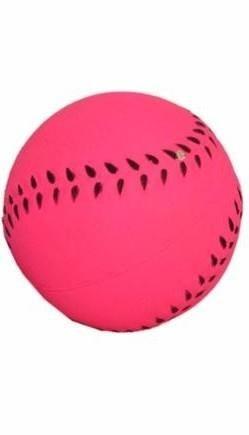 Piłka sportowa dla psa w neonowym kolorze - 6 cm
