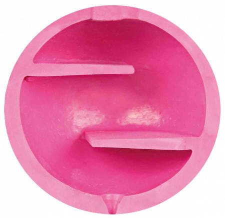 Piłka z labiryntem wewnątrz na smakołyki - 11 cm