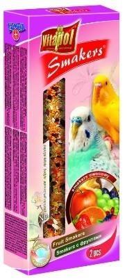 Pokarm w formie owocowych kolb dla papug falistych - 2 sztuki