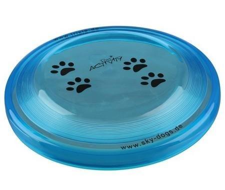 Profesjonalne Frisbee do rzucania i aportowania dla psa - małe 19cm