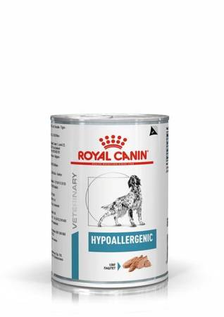 Royal Canin Veterinary Diet Dog Hypoallergenic puszka 200g