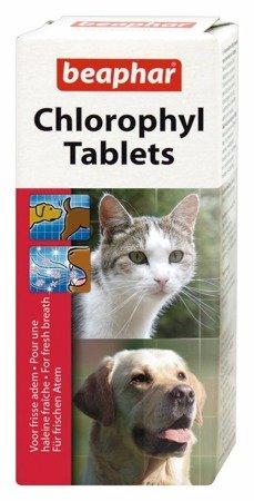 Tabletki odświeżające oddech o likwidujące niepożądane zapachy zwierząt Chlorophyl Tablets 30 szt