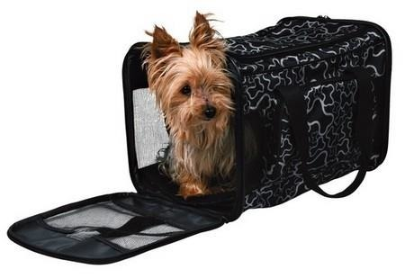 Torba transportowa dla małych ras psów - 42 x 27 x 26 cm