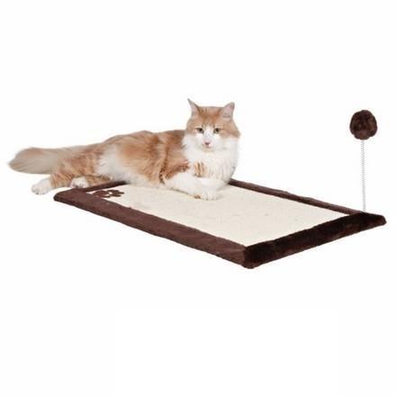 Drapak dla kota w formie maty z piłeczką