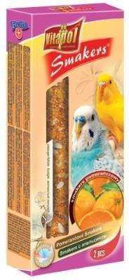 Pomarańczowe kolby dla papużek falistych - 2 sztuki