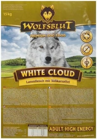 Wolfsblut Dog White Cloud Active jagnięcina