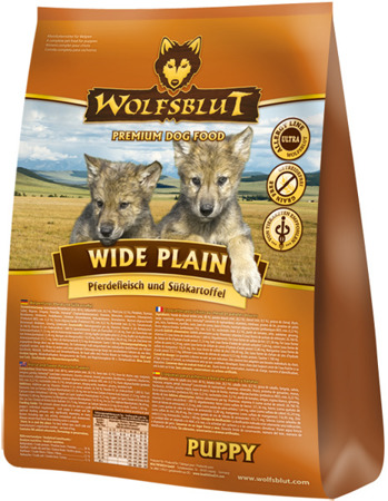 Wolfsblut Dog Wide Plain Puppy konina i bataty